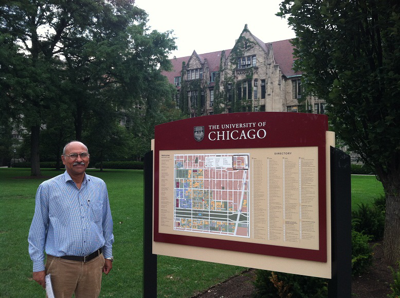 Visit To University Of Chicago<